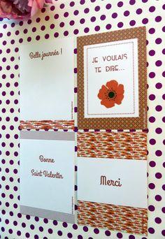 Romantic cards / Cartes romantiques St Valentin