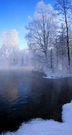 Reflections of winter in Finland • photo: Kari Liimatainen on deviantart
