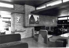 Goetsch-Winckler House. 1940, Okemos, Michigan. Usonian Style. Frank Lloyd Wright