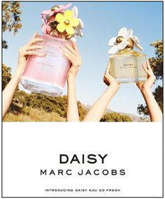 Daisy Eau So Fresh by Marc Jacobs is a Floral Fruity fragrance for women. Daisy Eau So Fresh was launched in Top notes are grapefruit, green notes. Marc Jacobs Parfüm, Parfum Marc Jacobs, Marc Jacobs Daisy Perfume, Boutique Parfum, Perfume Adverts, Daisy Eau So Fresh, Francis Kurkdjian, Smell Good, Lipsticks
