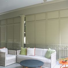 Our privacy walls give you an aesthetically pleasing way to enjoy the outdoors while providing shading and protection from the elements, as well as maintaining your privacy. Privacy Walls, Outdoor Settings, Shutters, Shades, Outdoors, Windows, Furniture, Design, Home Decor