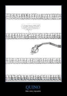 #Quino y las masas sin #preguntas