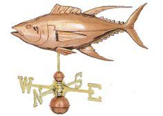 Yellow Fin Tuna Fish Weathervane