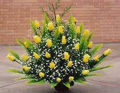 Resultado de imagem para arreglo de flores gigante