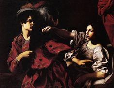 Giovanni Battista Caracciolo, detto il Battistello - Giuseppe e la moglie di Putifarre - 1618