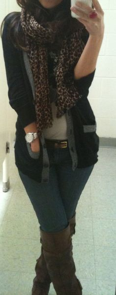 Love browns, greys, black.  (Lilly's Style)