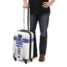 R2D2 carry-on luggage