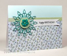 Happy Birthday by Deborah (aka Gigi), via Flickr  serville buckle ..gorgeous colours!