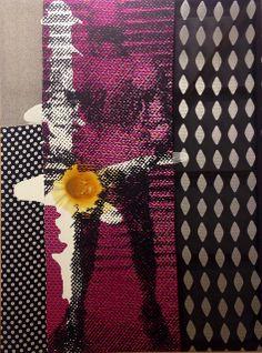 Schwarzer Ritter - Sigmar Polke - 1988 - Musée d'art moderne de la ville de Paris