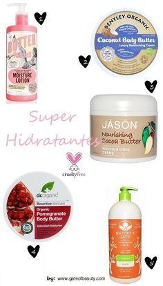 5 super hidratantes Cruelty Free