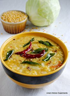 Cabbage Moong Dal.