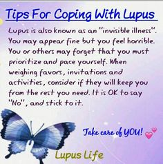 From #Lupus Life....SAYING NO IS SO DIFFICULT FOR ME TO DO; so I'm going to have to work on this.