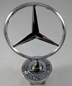 Awesome Awesome Mercedes Benz Front Hood Ornament 3D Blue Wreath For C-Class E-Class S-Class USA 2018 Check more at http://24go.cf/2017/awesome-mercedes-benz-front-hood-ornament-3d-blue-wreath-for-c-class-e-class-s-class-usa-2018/