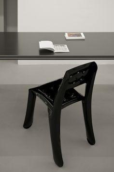 Carbon table with chippensteel chair  https://shop.zieta.pl/pl,p,,84,carbon_table.html  Carbon Table and NOGI- product card: http://zieta.pl/grafika/sales_kit/Carbon.pdf