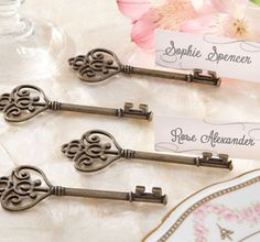Antique Key Place Card Holders PARTYCITY