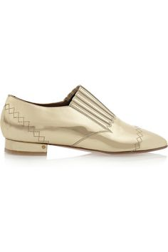 Laurence Dacade mirrored loafers