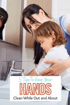 Looking for simple tips to keep your hands clean while you are out? Check out these 5 easy ways to do just that & the results from the Healthy Handwashing Survey