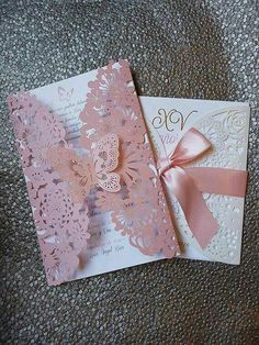 This Butterfly Laser Cut Invitations Cards Invitation Quinceanera invitation Sweet sixteen invitation Baby Shower is just one of the custom, handmade pieces you'll find in our invitations shops. Invitations Quinceanera, Quince Invitations, Sweet Sixteen Invitations, Quinceanera Decorations, Quinceanera Party, Elegant Invitations, Quince Decorations, Quinceanera Dresses, Birthday Invitations