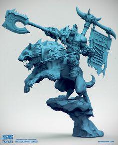 ArtStation - Grommash the conqueror, Daniel Orive