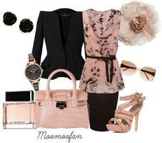 """""""Blush"""" by moomoofan1972 ❤ liked on Polyvore"""