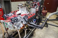 2014 Engine Masters Challenge Winner: BES 401c.i. Gen III Hemi; its average peak power was 688.67 horsepower while making 611.67 ft./lbs. of torque [4368 x 2912]