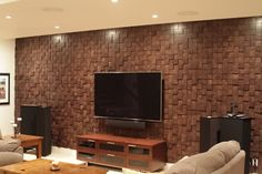 Bad ass Walltraditional living room by Beckwith Interiors Tv Unit, Traditional Kitchen, Other Rooms, My House, Family Room, Master Bedroom, Polished Wood, Wood Tiles, Basements