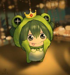 My Hero Academia Tsuyu, My Hero Academia Shouto, My Hero Academia Episodes, Hero Academia Characters, Anime Characters, Tsuyu Asui, Cute Anime Chibi, Kawaii Anime Girl, Chibi Boy