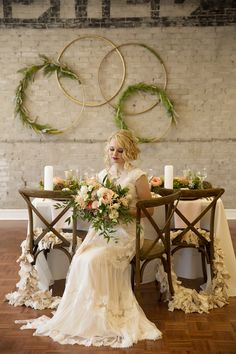 Leah Stallings shot this beautiful set up in our HC Room, which is available to rent for parties and events. Rent Party, Parties, Events, Weddings, Table Decorations, Room, Beautiful, Home Decor, Fiestas