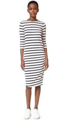 endless rose Long Sleeve Print Dress   SHOPBOP