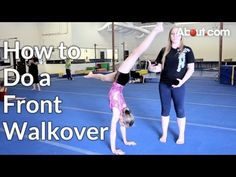 ▶ How to Do a Front Walkover Video - YouTube