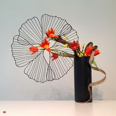 Ikebana - spring bloom