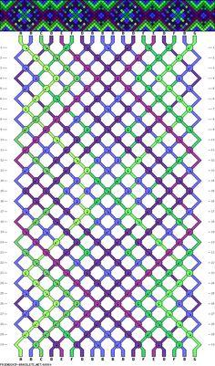 18 strings, 7 colors, 30 rows