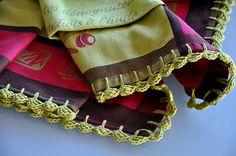Ravelry: free Easy Zig Zag Crocheted Edging pattern by Kathleen Mower
