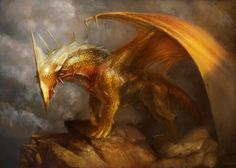 Yigit Koroglu is a digital conceptual artist from Turkey. His professional work includes t-shirt designs, games concepts and book covers. Fantasy Dragon, Fantasy Art, Dragon Heart, Fire Dragon, Golden Warriors, Furry Pics, Dragon's Lair, Dragon Pictures, Pretty Art