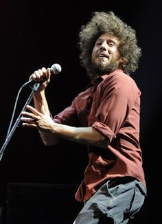 """Zack de la Rocha and his band, Rage Against the Machine, is known for polemical songs about corporate America and oppression--most famously, the song """"Killing in the Name,"""" which rails against societal ills."""""""