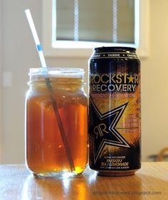 Rockstar Recovery Tea Lemonade Energy Drink
