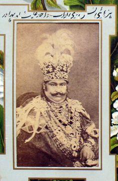 Wajid Ali Shah Last nawab of Awadh India Map, India Asia, Colonial India, Royal Indian, India Independence, India Facts, Indian Princess, History Of India, Old Maps