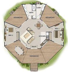 Floor Plans Granny Flat Guest Quarters Australian Kit Home For Sale
