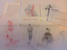 1950 Wa-Vel's Wholesale Catalog Women's Fashion Chinatown San Francisco | eBay