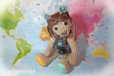 Simon l'ourson qui voulait faire le tour du monde...