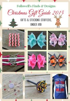 Christmas Gift Guide - Gifts & Stocking Stuffers, Under $10