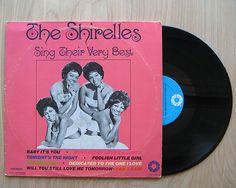 "The Shirelles 'Sing Their Very Best"" Vinyl Record LP. Rhythm & Blues. Doo Wop. Rock N' Roll. Girl Group"
