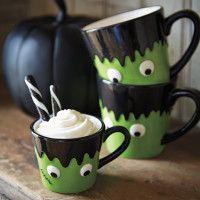 EEk, how ADORABLE is this mini #Frankestein's monster mug! @Surlatable