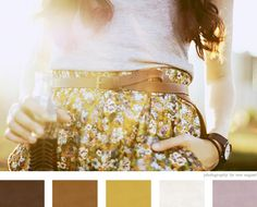 Great color palette for fall