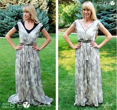 How to make a dress perfect for you! #altering #tips #beforeafter