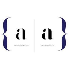 lingerie typeface fashion magazine font by moshik nadav typography typographyfonts pinterest magazine fonts fonts and typography