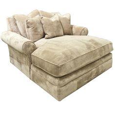 Robert Michaels Island Chair Chaise.....Love this......Great Cuddle chair by the fireplace, or just curl up and take a nap!