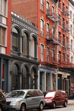 tribeca NYC new york city buildings by moonman82, via Flickr