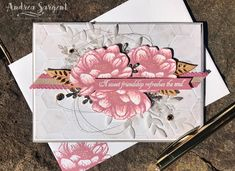 Tasteful Touches Stampin Up card, Andrea Sargent, Independent Stampin' Up! Demonstrator, South Australia