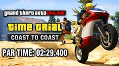 GTA Online - Time Trial #14 - Coast to Coast (Under Par Time)